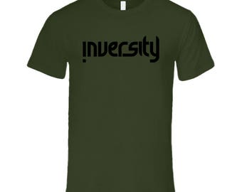 Premium Military Green- Black Logo T Shirt