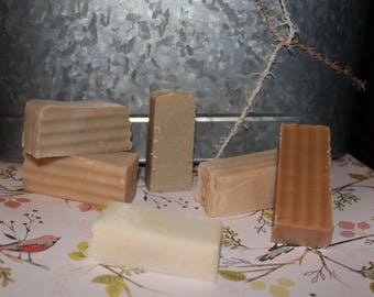 Sample Pack of Rocky Ridge Soaps, 5 Mini Bars