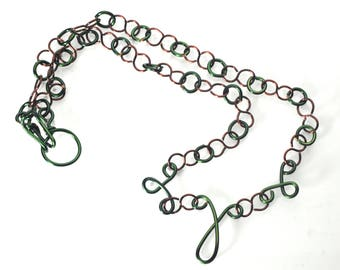 Forest Loops Necklace