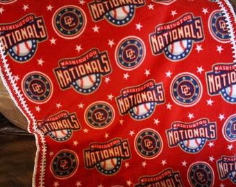 Washington Nationals Baby, Toddler Blanket