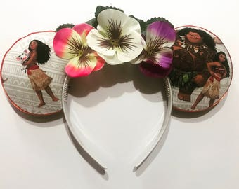 Moana Mickey Ears