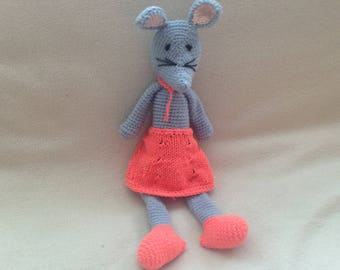 Crochet Dressed Mouse