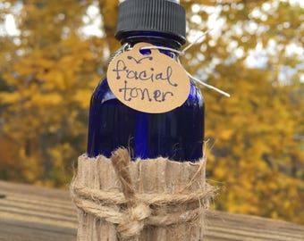 bigfoot Facial Toner - Witch Hazel, Vitamin C Powder, Lavender, Tea Tree - Essential Oil