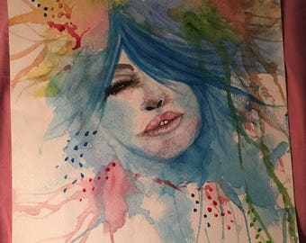 Watercolor Beautiful Mess
