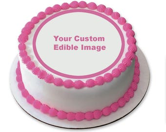 Custom Edible Image Icing Sheet