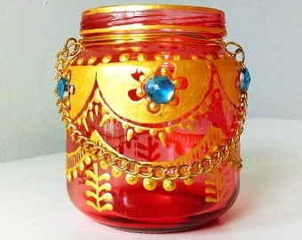 Moroccan Tea Candle 3