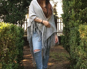 The classic gray shawl