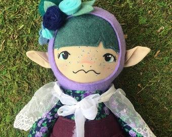 """Olive - 16"""" Heirloom Doll - Cloth Rag Doll"""