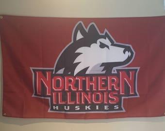 Northern Ilinois Huskies Wall Banner