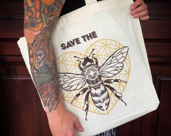 Save the bees Totebag