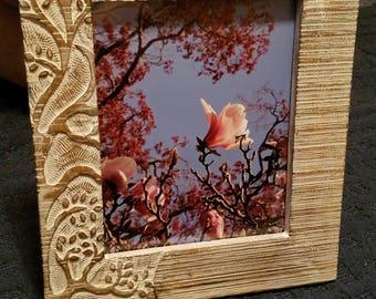 Floral Framed Photograph
