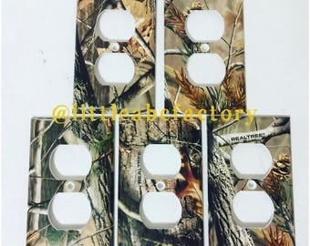 Real Tree Camo Outlet Covers