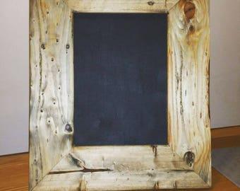 Desktop rustic chalkboard