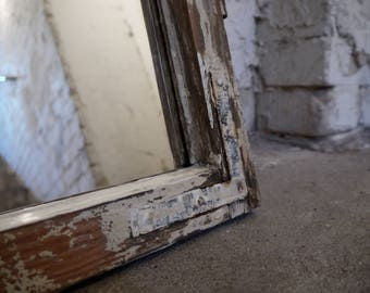 Window frames with mirrors, Upcycling