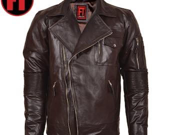 CADE - Men's Genuine Leather Jacket