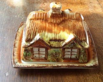Vintage butter dish by price Kensington cottage ware
