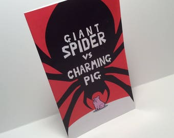 Giant Spider vs. Charming Pig Mini Comic