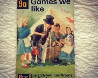 Ladybird Book Games We Like 9a Ladybird Key Words Reading Scheme Published 1964 in England