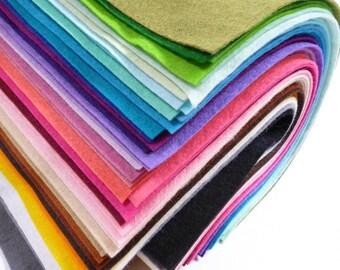 """12"""" SQUARES Premium Wool Blend Felt"""