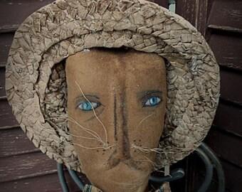 MUSTARD SEED ORIGINALS, Extremely Primitive, Primitive, Folk Art, Easter, Spring, Rabbit, Bunny, TeamHaHa, Hafair, by Sharon Stevens