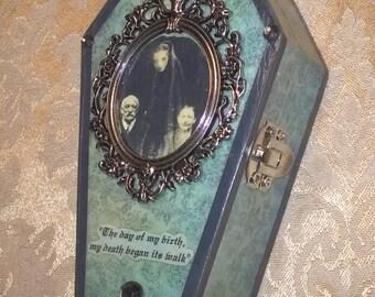 Victorian Spirit Photography Coffin Box