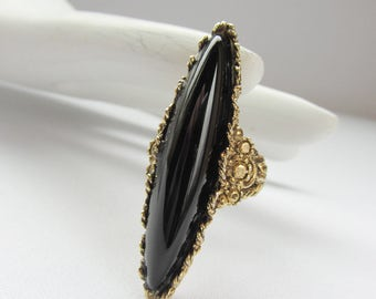 Victoria - Vintage Adjustable Victorian Style Ring