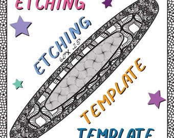 Patch Frame Work Making jewelry Etching Patch work Cuff pattern Download -DT-LIST-2