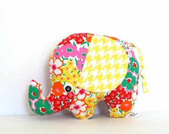 Baby Plush Toy, Baby Soft Toy, Plush Elephant, Elephant Softie, Elephant Stuffie, Baby Girl Gift
