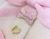 Brand Bitch Enamel Pin - Lolita Fashion - Angelic Pretty Parody - Lapel Badge