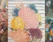 floral no. 16 - original oil painting