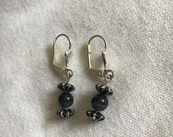 SALE! Little Black Earrings