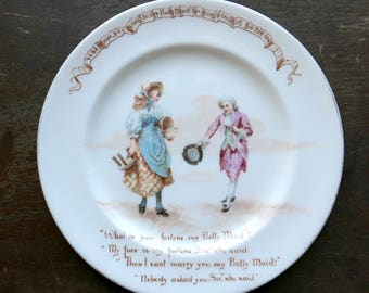 1930s Royal Doulton Nursery Rhymes Plate