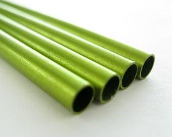"Anodized Aluminum Tubing 3/32"" Lime"