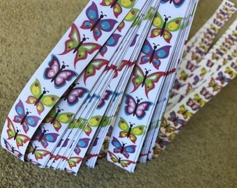 Weaving Star Paper~ Butterflies (52 strips)