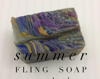 Summer Fling handmade soaps