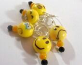 Emoji stitch markers by AnniePurl