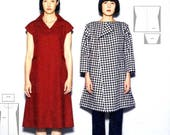Fold, Sew, and Cut Simple Clothes from Squared Cloth  - Japanese Craft Book