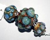 Lampwork  Art Beads by Jeanniesbeads #1698