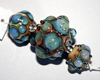 Lampwork  Art Beads by Jeanniesbeads #1698