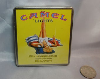 Camel Cigarette Tin