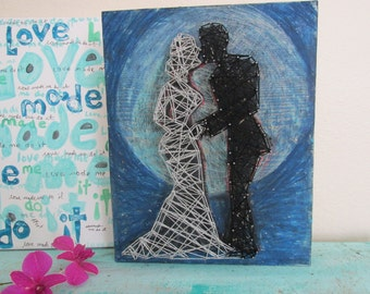 Gifts For Couples  Personalized   Wedding gift  Wall decor   by eileenaart