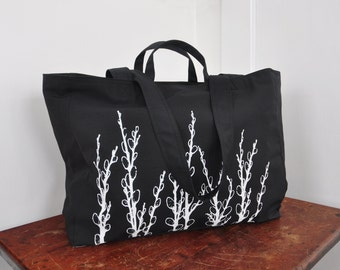 Pussy Willows - Weekender Bag - Zipper Closure