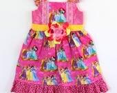 Princess dress, aurora dress,  tiana dress, rapunzel dress, cinderella dress, belle dress,  girls dress, boutique dress, toddler dress