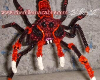 Scabweaver Spider- Chenille Stem Miniature