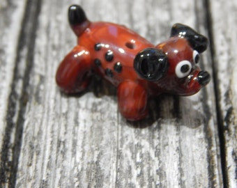 Winner Dog, Lampwork Bead, Simply Lampwork by Nancy Gant, SRA G55