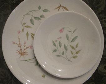 Vintage Peter Terris APRIL Plates - Three Shenango China Plates