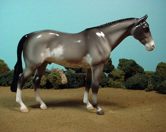 Model Horse Pinto Glossy Porcelain LAST ONE Ed of 20