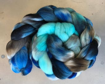 Dew Blues - Polwarth 4oz