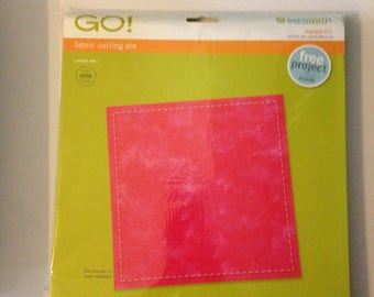 AccuQuilt Go! Fabric Cutting Die square 6.5 inch 55000 block A