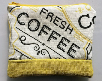 Coffee Shop   - Zippered Pouch